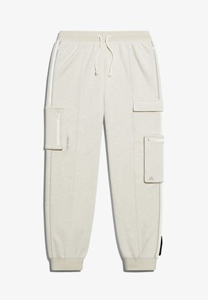 IVY PARK CARGO SWEAT PANTS (ALL GENDER) - Tracksuit bottoms - cream melange