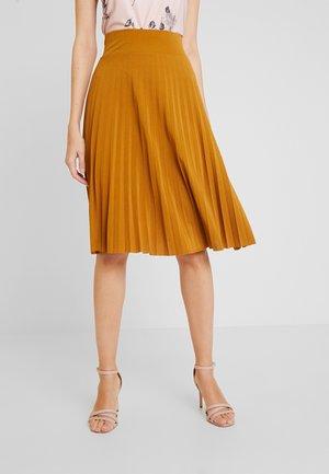 A-linjainen hame - golden brown