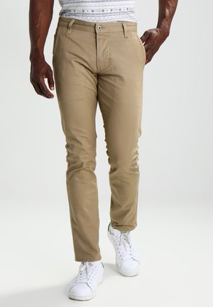 ALPHA ORIGINAL KHAKI SKINNY - Chinos - new british khaki