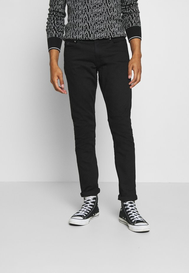 SLIM - Slim fit jeans - black denim