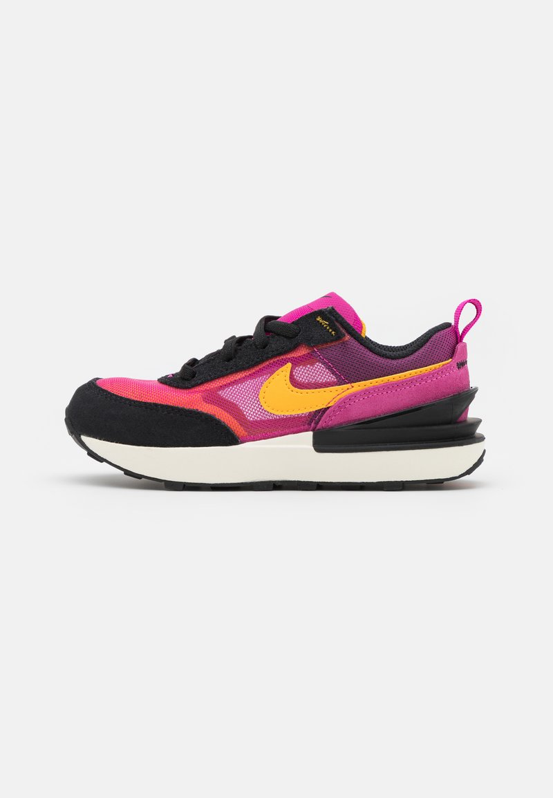 Nike Sportswear - WAFFLE ONE UNISEX - Baskets basses - active fuchsia/university gold/black/coconut milk