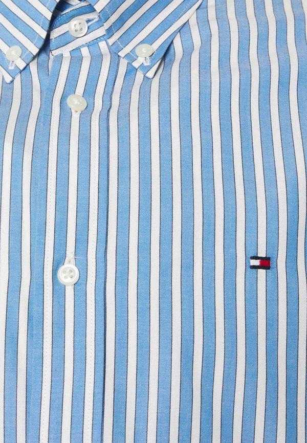 Tommy Hilfiger BOLD STRIPE REGULAR FIT - Koszula - copenhagen blue/ivory /yale navy/jasnoniebieski Odzież Męska TCHW