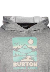 Burton - OAK - Jersey con capucha - gray heather/multicolor - 2