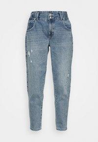 ONLY - ONLLU LIFE CARROT - Jeansy Straight Leg - light blue denim - 4