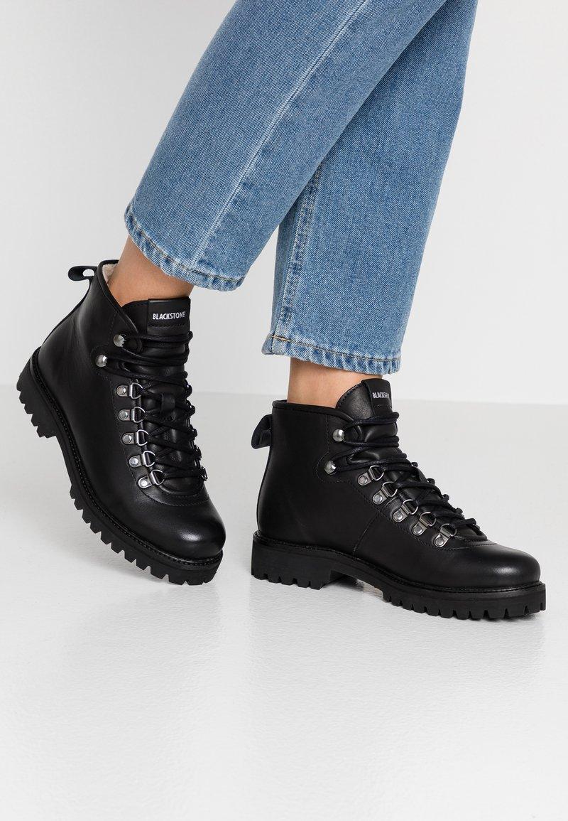 Blackstone - Boots à talons - black