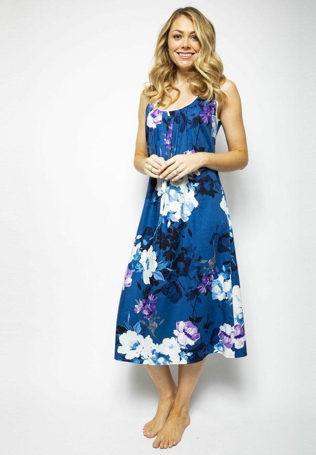 Negligé - blue floral