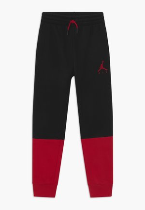 JUMPMAN AIR - Pantalones deportivos - black/gym red