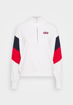 USA HALF ZIP - Sweatshirt - milk 600 global