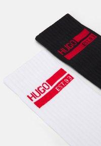 HUGO - GIFTSET 2 PACK - Ponožky - white/black - 1