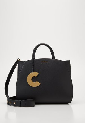 CONCRETE HANDBAG - Handbag - noir