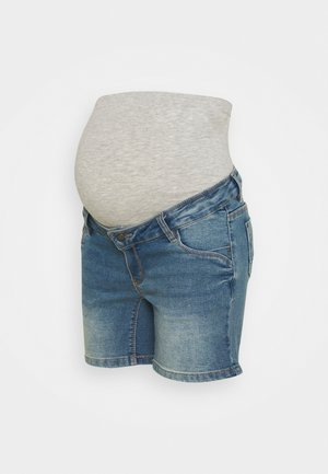 MLFONTANA - Denim shorts - light blue denim