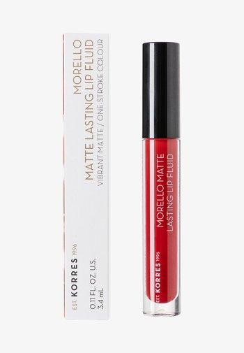 MORELLO MATTE LASTING LIP FLUID - Liquid lipstick - 59 brick red