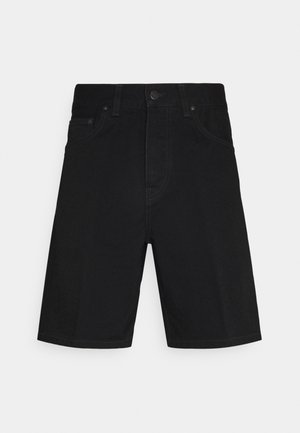 NEWEL MAITLAND - Denim shorts - black rinsed