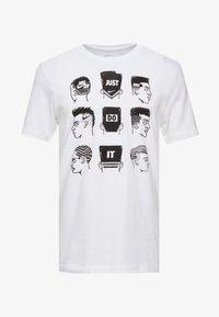 Nike Sportswear - TEE - Print T-shirt - white - 3