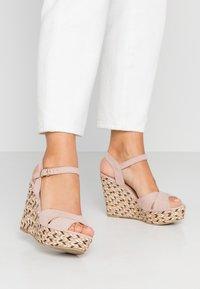 Anna Field - Korolliset sandaalit - rose - 0