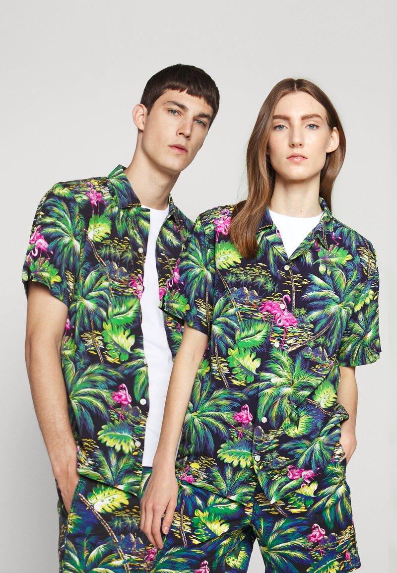 Polo Ralph Lauren - PRINTED - Camisa - green/dark blue
