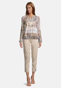 Betty Barclay - Long sleeved top - blau beige - 1
