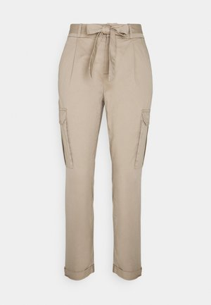 VMEVA PAPERBAG CARGO - Trousers - silver mink