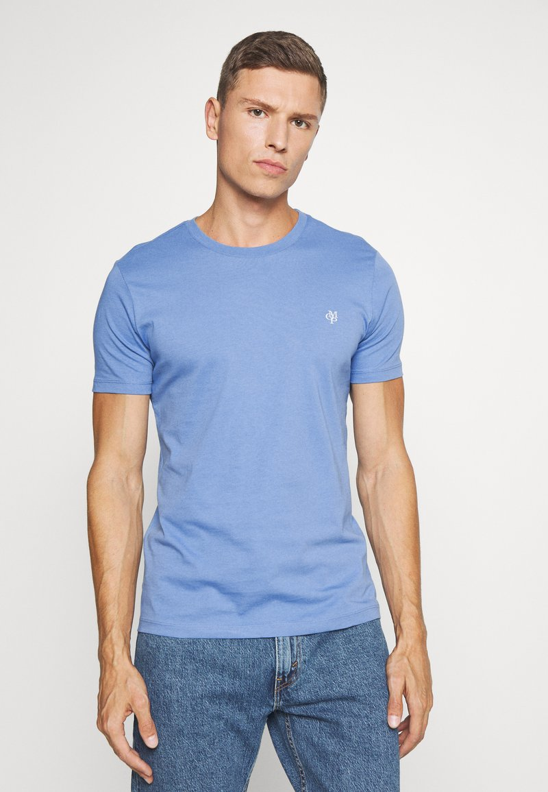 Marc O'Polo - SHORT SLEEVE COLLA - Basic T-shirt - riviera