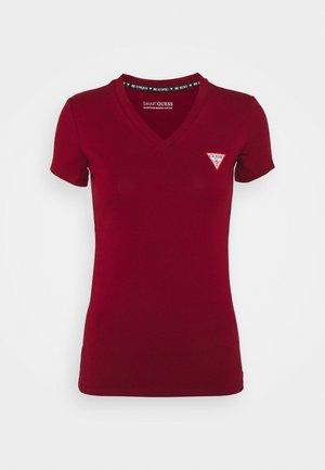 MINI TRIANGLE TEE - Basic T-shirt - beet juice red