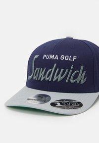 Puma Golf - SANDWICH CITY SNAPBACK - Cap - peacoat - 5