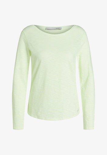 Sweatshirt - white yellow/or