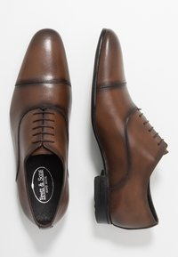 Brett & Sons - Smart lace-ups - cres cognac - 1