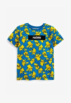 POKEMON ALL OVER PRINT T-SHIRT - Print T-shirt - blue