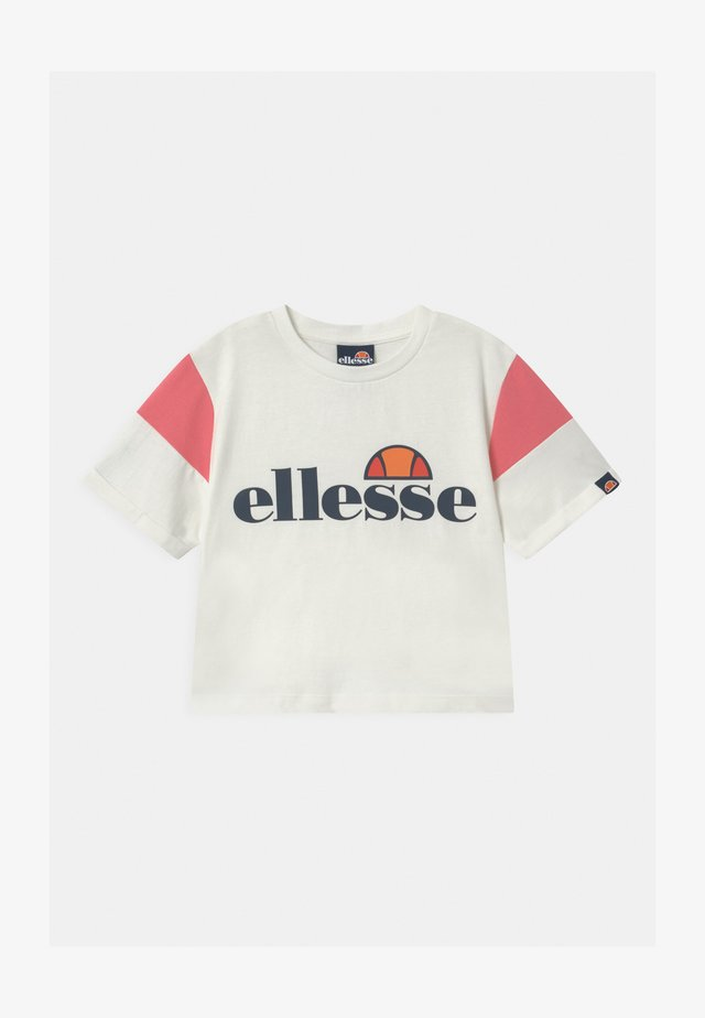 LAYKE - Print T-shirt - off white