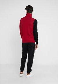 Versace Collection - Jumper - rosso/nero/beige - 2