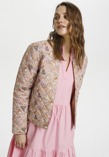 EVISZ - Light jacket - taupe groven paisley