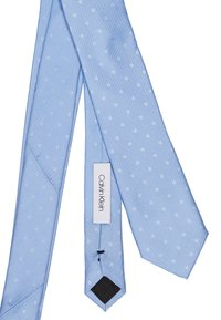 Calvin Klein - MIXED SCALE DOTS TIE - Kravata - light blue - 2