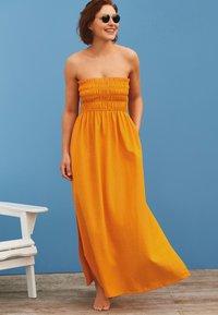 Next - EMMA WILLIS - Maxi dress - ochre - 0