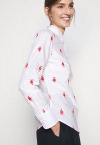 J.CREW - PERFECT KNOTS - Button-down blouse - white - 4