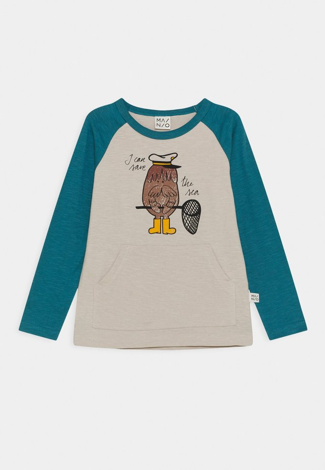 CAPTAIN WALRUS RAGLAN UNISEX - Long sleeved top - moonbeam