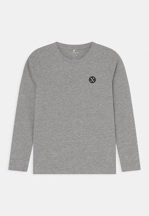 NKNFREY - Long sleeved top - grey melange