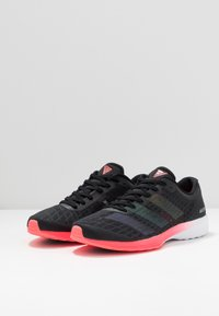 adidas Performance - ADIZERO RC 2 - Competition running shoes - core black/signal pink - 2