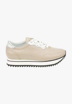 Sneakersy niskie - sabbia