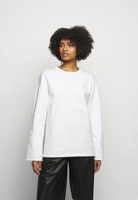 MM6 Maison Margiela - Sweatshirt - white - 0