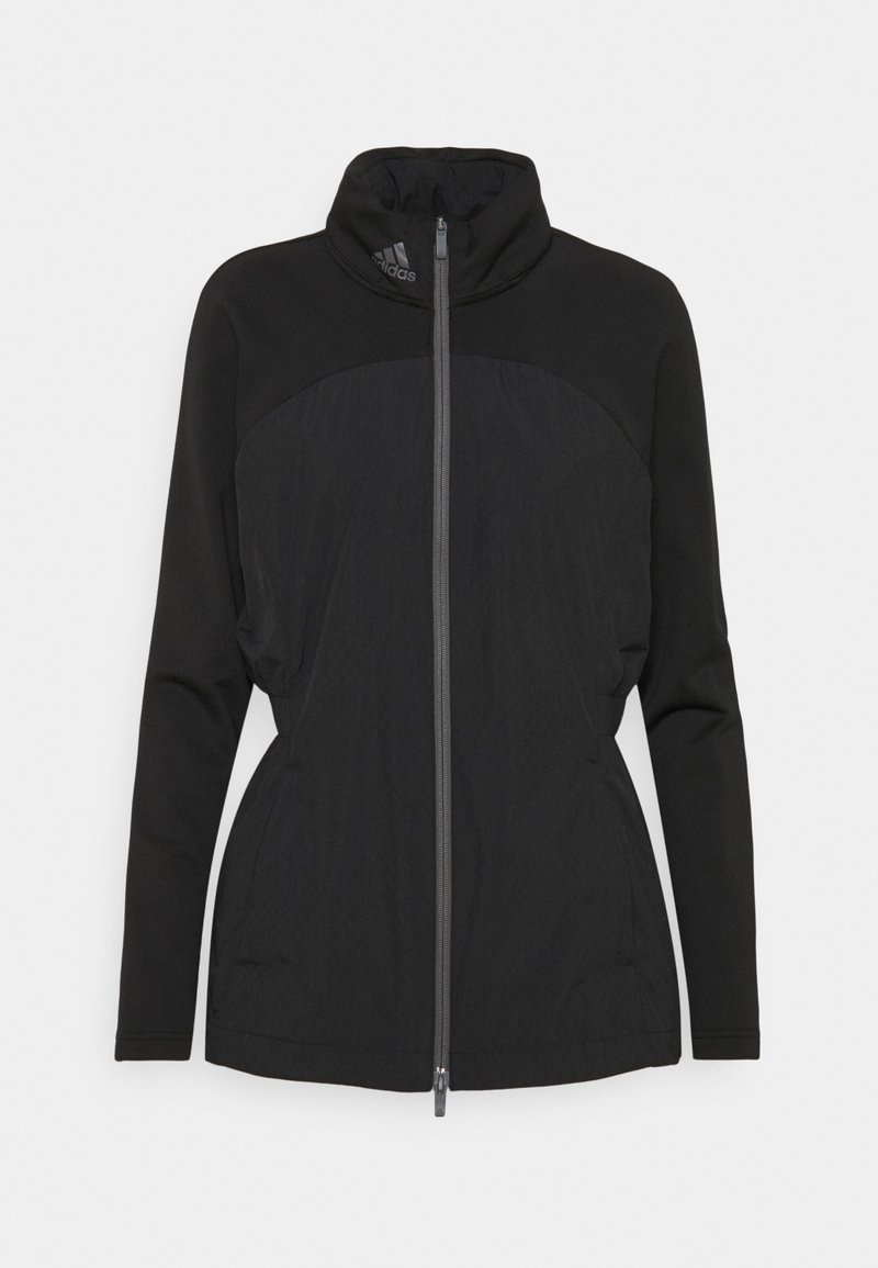 adidas Golf - HYBRID FULL ZIP - Outdoor jacket - black