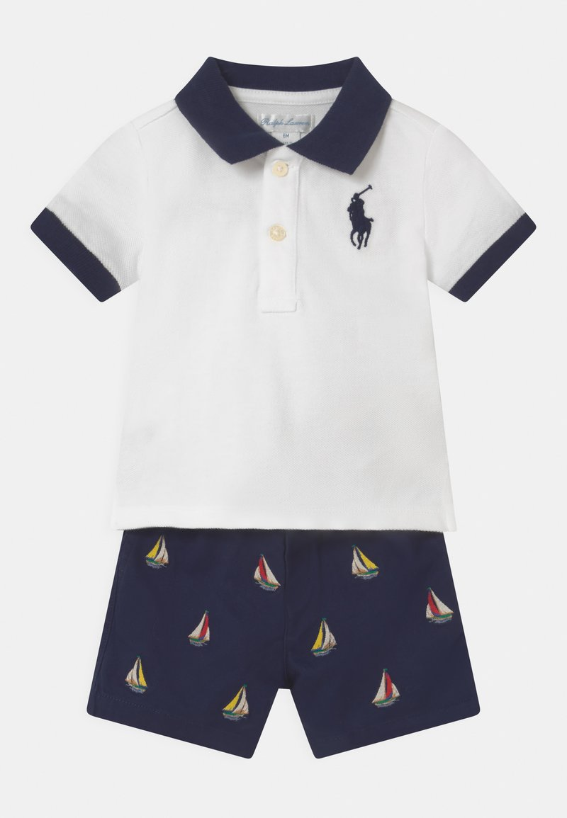 Polo Ralph Lauren - SET - Shorts - white/ navy