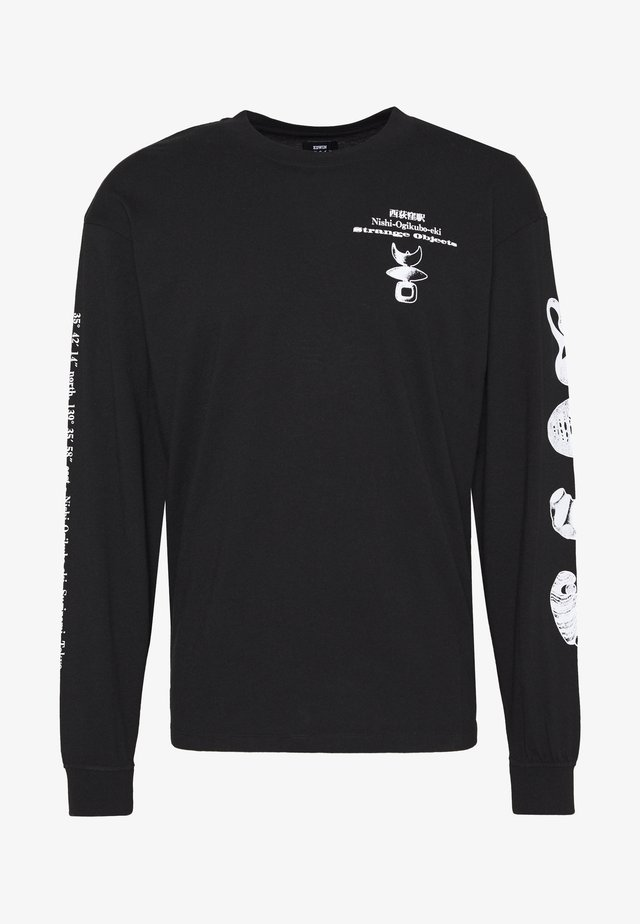 STRANGE OBJECTS - T-shirt à manches longues - black