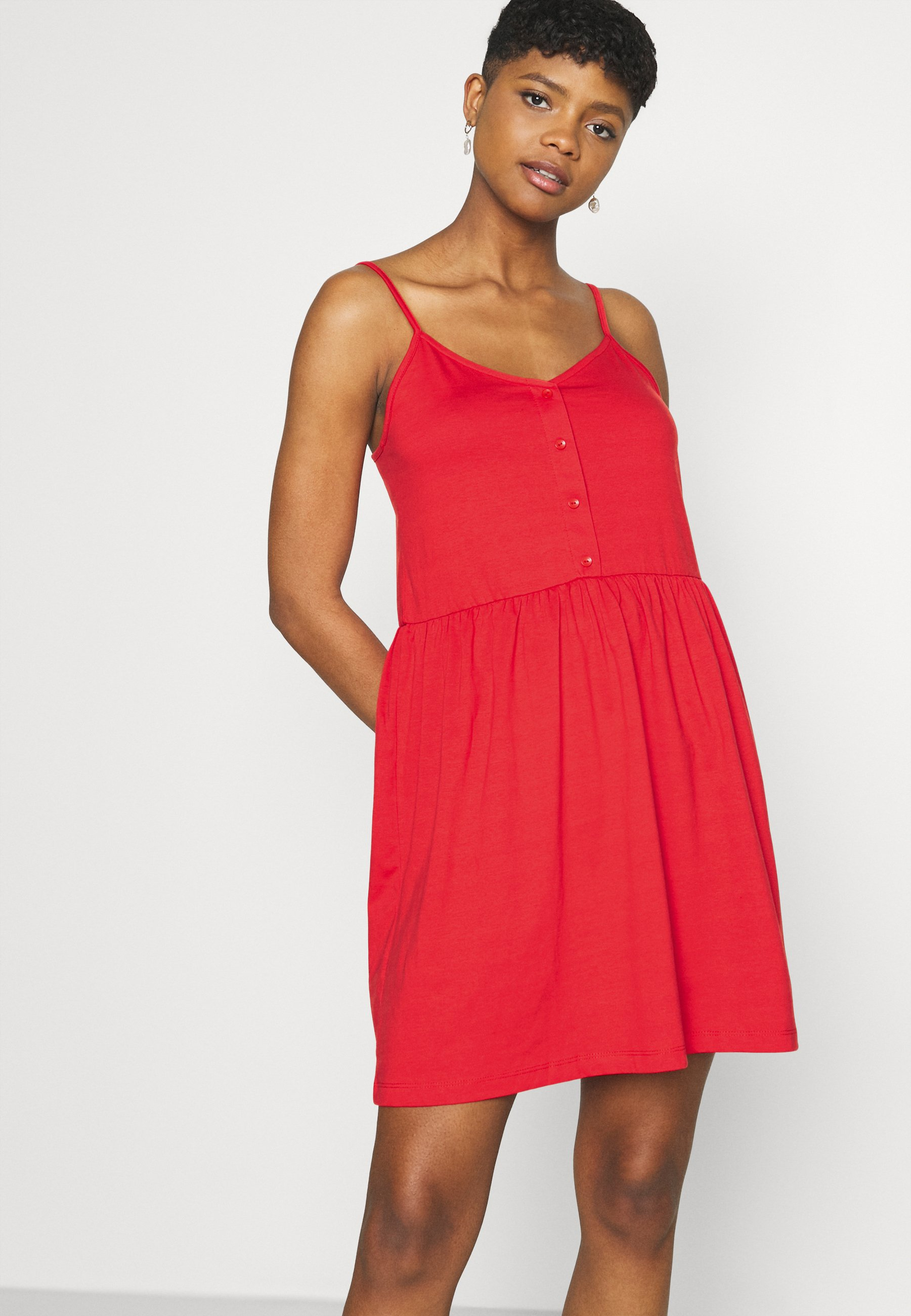 Damen VIDREAMERS SINGLET SHORT DRESS - Jerseykleid