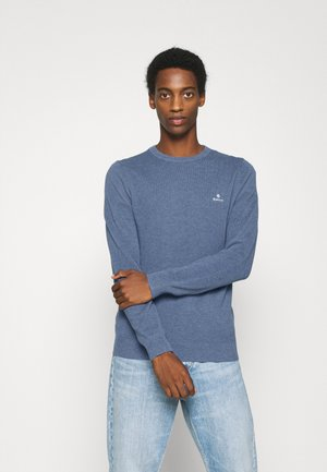 C NECK - Jumper - denim blue