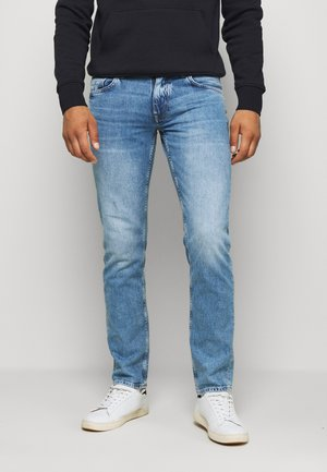 STRAIGHT DENTON  - Straight leg jeans - denim