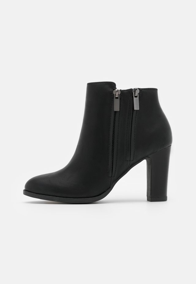 ASUMA - High heeled ankle boots - black