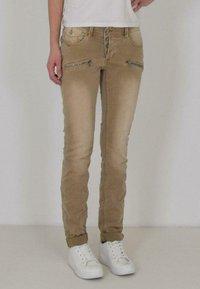 Buena Vista - MALIBU - Jeans Skinny Fit - beige - 0