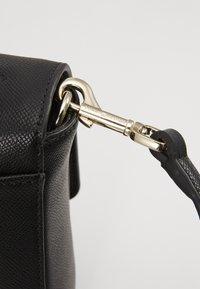 Tommy Hilfiger - HONEY FLAP SATCHEL - Handbag - black - 6