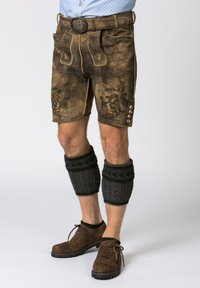 Stockerpoint - HARTL - Leather trousers - dark brown - 3