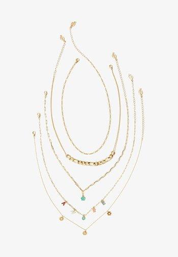 5 SET AMORE   - Necklace - gold